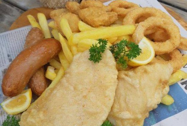 Family Fish & Chip Meal FREE