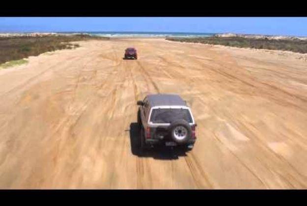 4x4 Adventure drive Te Paki Stream